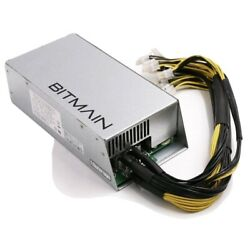 Apw3++ Switching Power Supply For Bitmain Antminer L3+ / S9 / T9 / D3