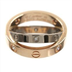 Beelab Dialing About No.6 K18wg Pg Ring Jewellery Accessory Secondhand
