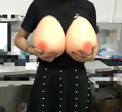 Realistic Silicone Breast Forms Breasts Fake Chest For Crossdress Boobs Enhancer