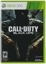 Call Of Duty Black Ops Xbox 360 New Xbox 360