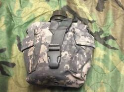 Army Military Surplus Acu Ucp Camo Molle Utility Gp Water Canteen And Pouch Usgi