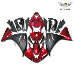 Ftb Red Black Injection Plastic Fairing Fit For Yamaha Yzf R1 2009-2010 R001
