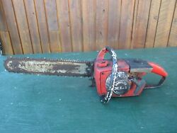 Vintage Homelite Xl1 Automatic Chainsaw Chain Saw With 16 Bar With Log Spike