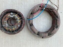 Powertech Generator 02rtr1520exc Exciter Rotor And Stator 02sta1520excg Used