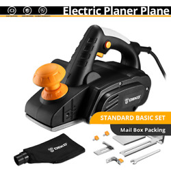 Electric Hand Planer 900w 16000rpm Wood Cutting Power Tools With 3mm Adjustable