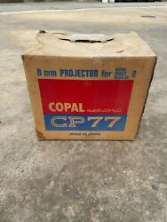 Unused Copal Sekonic Cp77 8mm Film Projector For Super 8, Single 8 And Regular 8mm