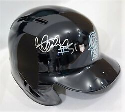 Ms Ichiro's Autograph 51 Seattle Mariners Real Official Game Helmets Check