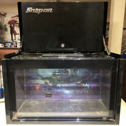 Rare Snap-on Tools Limited Edition Promo Tool Box Aquarium From Show Tanked