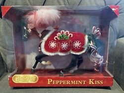 Peppermint Kiss Breyer 2015 Holiday Horse 700118 Traditional Scale. Damaged Box
