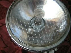 Antique Hella Chrome Driving Lamp Lights 5and039and039 Porsche 911 Audi Bmw Vw Mercedes