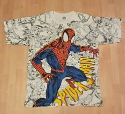Vintage Toni And Guy Spiderman T-shirt