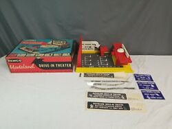 Vtg Remco 1959 Movieland Drive In Theater