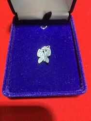 """James Avery Sterling Silver Butterfly Charm 3/4"""""""