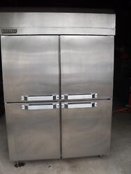Used Hobart Qh2 Pass Through Food Warmer/humidifier Cabinet With 4 And 2 Doorsandnbsp