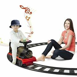 Dearbong Electric Ride On Train With Track, Sound, Lights, 6v Battery, Indoor /