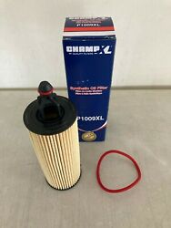 Champ P1009xl Synthetic Oil Filter Fits 68191349aa Mo349 Xg11665 Ch11665 P1009