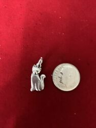 James Avery Sterling Silver Cat Charm
