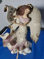 Pre-owned. Lenox Collectible Angel Figurine - Millennium Blessing