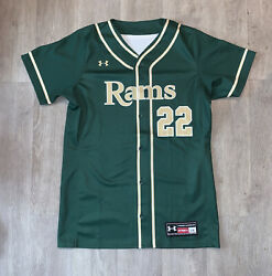 Under Armour Colorado State University Baseball authentic Jersey Official L