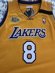 100 Authentic Mitchell And Ness Kobe Bryant Los Angeles Lakers 1999-2000 Jersey