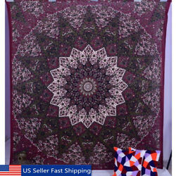 Indian Star Hippie Mandala Psychedelic Wall Tapestry Hanin Queen Throw