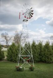 22 Ft Tall Amish Made In The Usa Aluminum Windmill