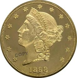 United States Of America 20 Twenty Dollars Liberty Head Double Eagle Gold Coin