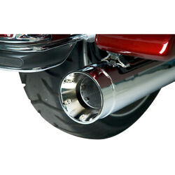 Harley Supertrapp Exhaust Stout Slip-on Mufflers Touring 17-20 Chrome 4