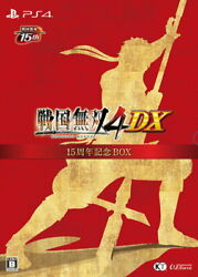 Sengoku Musou 4 Dx 15th Anniversary Box Sony Ps4 Games From Japan Tracking New
