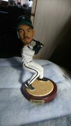 Used Near Mint Ichiro Bubble Head Figure From Seattle Mariners Serial No.1988