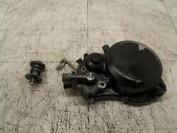 Yamaha Yz125 Yz 125 1984 84 Inner Clutch Cover Water Pump Valve Governor.