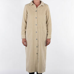 Nigel Cabourn Womens Cord Shirt Dress In Natural Various Sizes