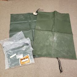 Military Surplus Cargo Cover Bag 8105-01-500-0175 Lot Of 4