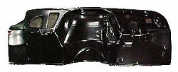 Sherman Parts 897-43 Dash And Toe Panel 1967-68 Gm Truck