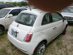 12-17 Fiat 500 Right Passengerand039s Side Door Assembly - Complete - White