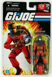 Gi Joe 25th Anniversary Barbecue Firefighter With Axe By Hasbro Mint On Card