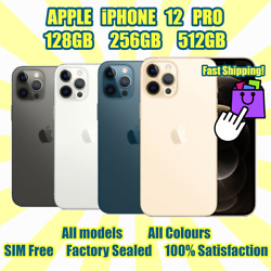 Apple Iphone12 Pro 128/256/528gb✨all Models All Colours✨factory Sealed✅