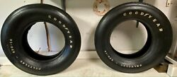 Vintage Pair Of Goodyear Polyglas Custom Wide Tread E70-14 Tires White Letters
