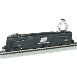 New Bachmann Penn Central Gg-1 Blck And White Dcc Sound Loco N Scale Free Us Ship