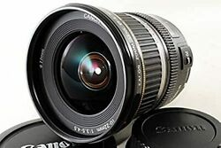 Used Canon Ultra Wide-angle Zoom Lens Ef-s10-22mm F3.5-4.5 Usm Aps-c Compatible