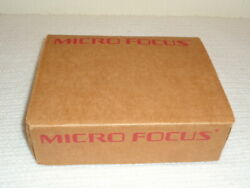 Cobol Workbench Micro Focus 1994 V 3.2.20 Rare Vintage Software New And Sealed