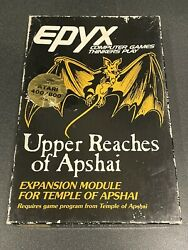 Upper Reaches Of Apshai Complete In Box Game Atari 800 Xl Xe Vintage Computer