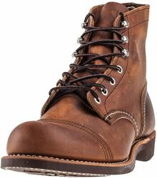 Red Wing Heritage Menand039s Iron Ranger 6 Vibram Boot
