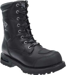 Harley-davidson Menand039s Richfield Black Performance Motorcycle Boots D96121