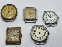 Vintage Military Era Watches Oris Trench Watches And Other Group