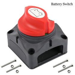 750a Battery Isolator Rotary Switch Power Cut Off Disconnect For Car Boat Truck
