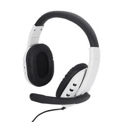 Wired Gaming Headset 3.5mm Stereo Headphone W/ Mic Fr Xbox One Ps5 Ps4 Pc Ps3 Ns