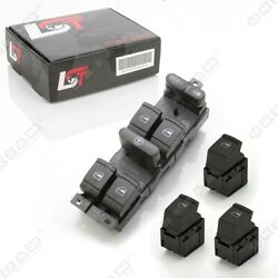Electric Window Control Switch Set Front Rear Left Right For Seat Leon 1m