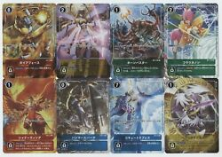 Digimon Card Game Tamers Evolution Set Of 8 Japanese Promo Cards New