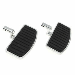 Motorcycle Driver Rider Footboards Floorboards For Honda Shadow Vt750c 1997-2003